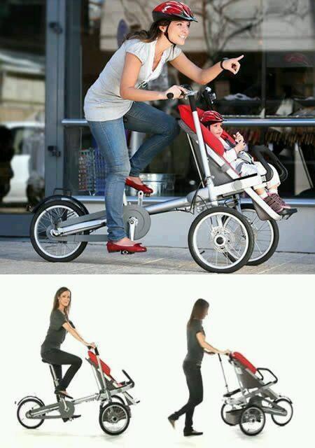 stroller-basikal
