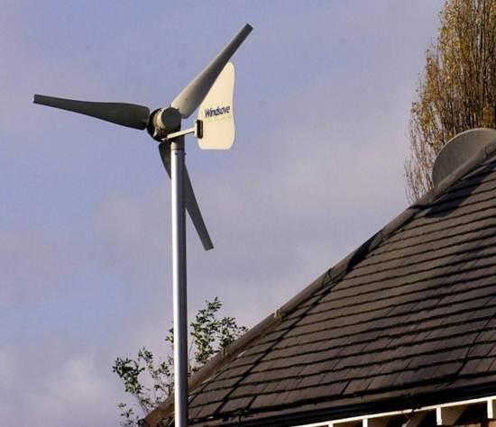 Tenaga Angin untuk menjana elektrik