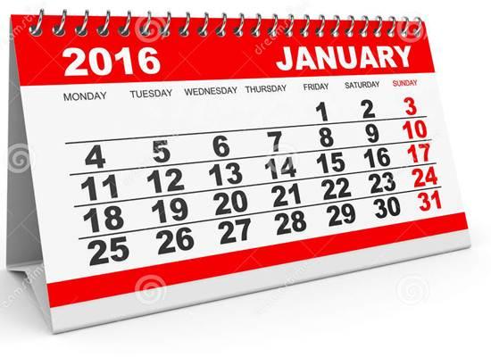 Pencapaian Januari 2016