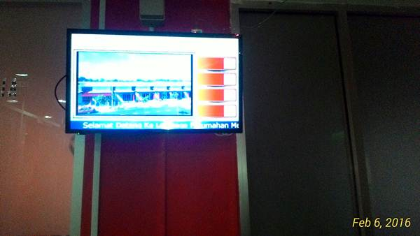 Sistem Giliran yang digunakan di pejabat.