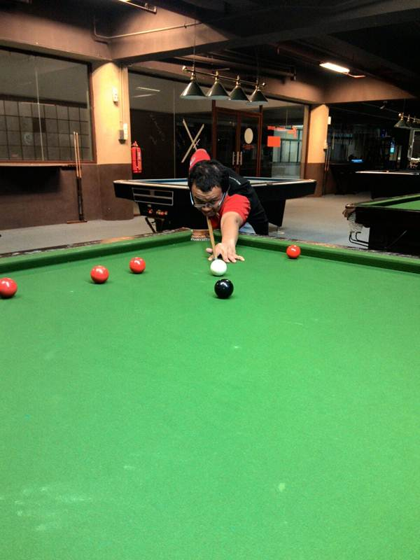Layan snooker di Cameron Highlands