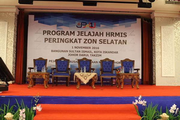 Menghadiri Program Jelajah HRMIS Peringkat Zon Selatan