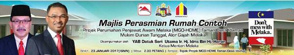 Layan Royal Mangga Float, Majlis Perasmian M-Go Home Taman Desa Idaman