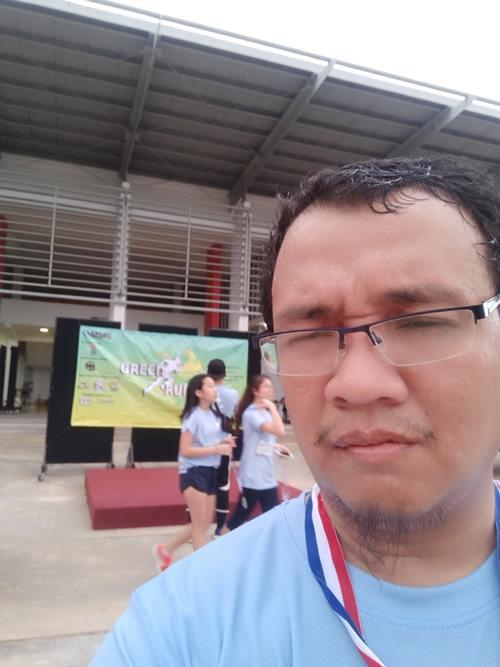 Larian Green Run 2.0 , Basuh Kereta dengan Anak, Buat Video Conferencing, Majlis RMM Taman Krubong Permai