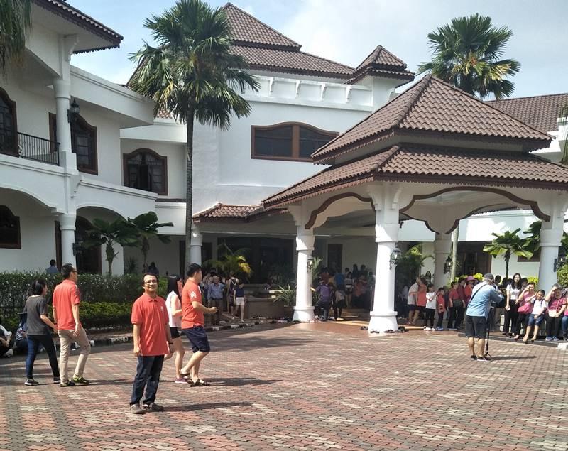 Cabaran Ramadhan , Melawat ke Rumah Ketua Menteri Melaka dan Beli Baju Raya 2018