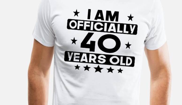 Genap Usia 40 Tahun