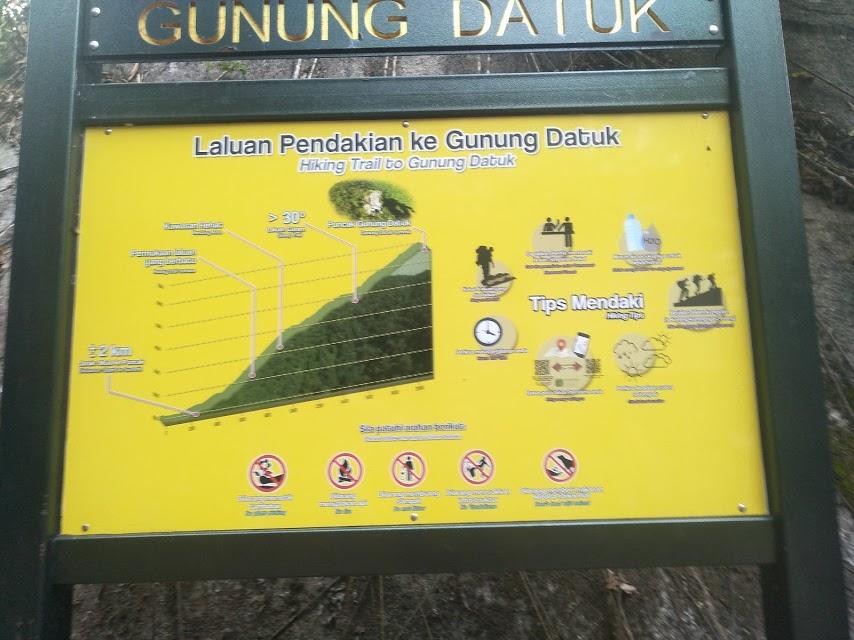 Mendaki ke Gunung Datuk, Rembau , Negeri Sembilan