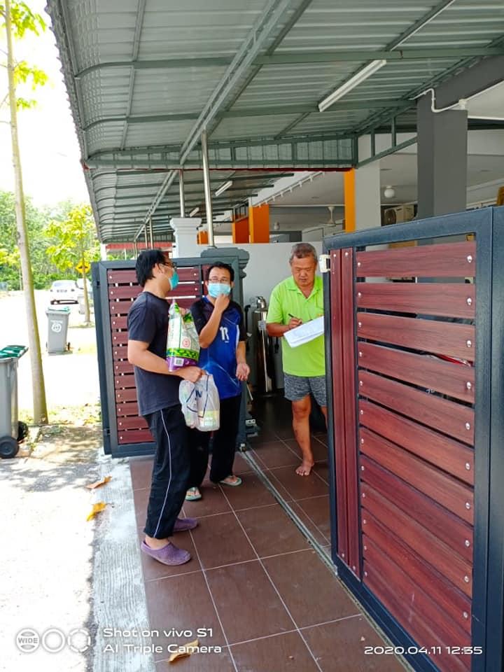 Aktiviti Sumbangan Persatuan Taman kepada Penduduk Taman