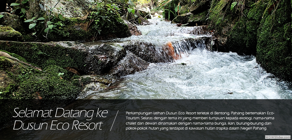 Kursus Team Building di Dusun Eco Resort, Bentong Pahang