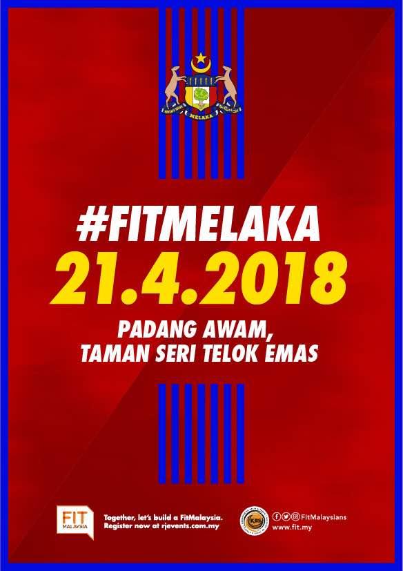 Sertai FitMalaysia Melaka 2018 , Pergi Kenduri Kahwin di Jelebu