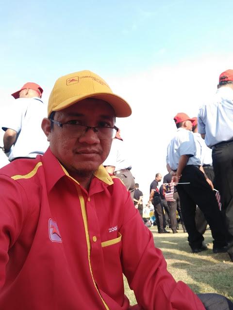 Menyertai Perarakan Hari Kemerdekaan 62 Peringkat Negeri Melaka