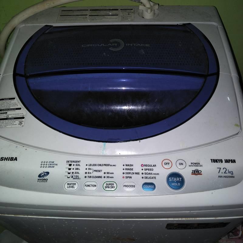 Cuci Mesin Basuh Toshiba