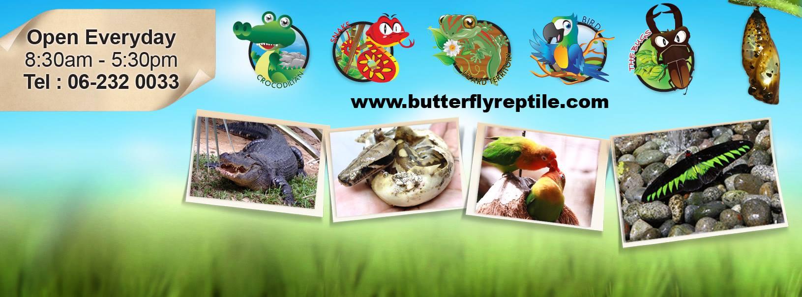 Melawat Taman Rama-Rama dan Reptilia Melaka
