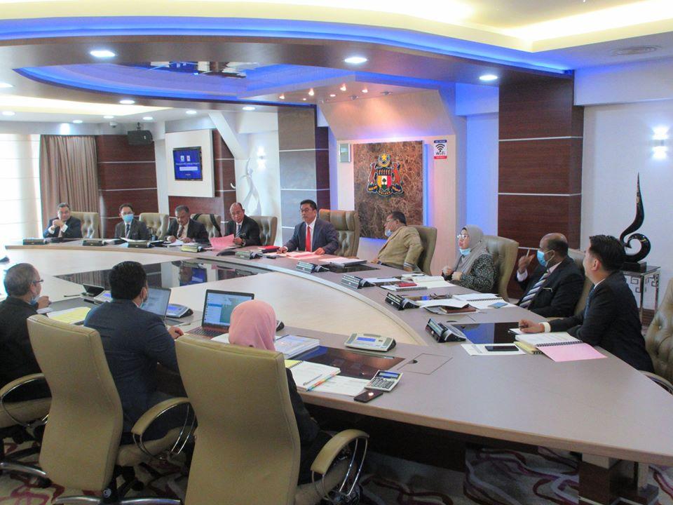 Mesyuarat bersama Ketua Menteri Melaka Baharu , YAB Datuk Sulaiman Md Ali , Bayar Zakat Online